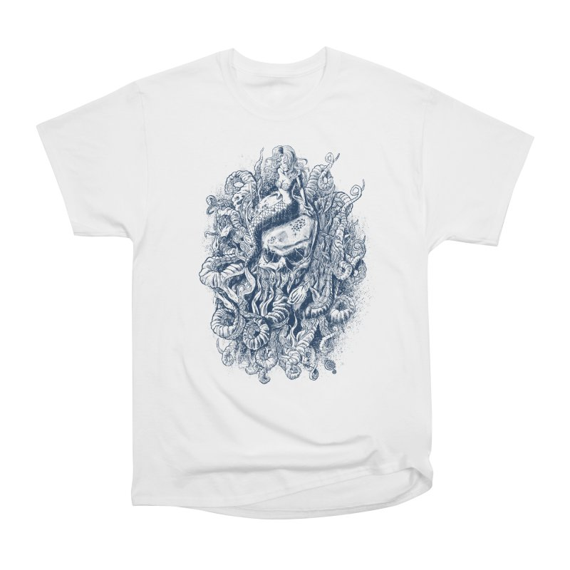 Mermaid of the Deep Men's Classic T-Shirt by Qetza