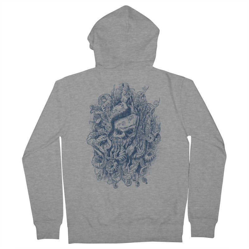 Mermaid of the Deep Women's Zip-Up Hoody by Qetza
