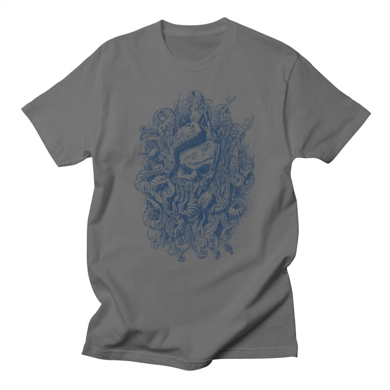 Mermaid of the Deep Men's T-Shirt by Qetza