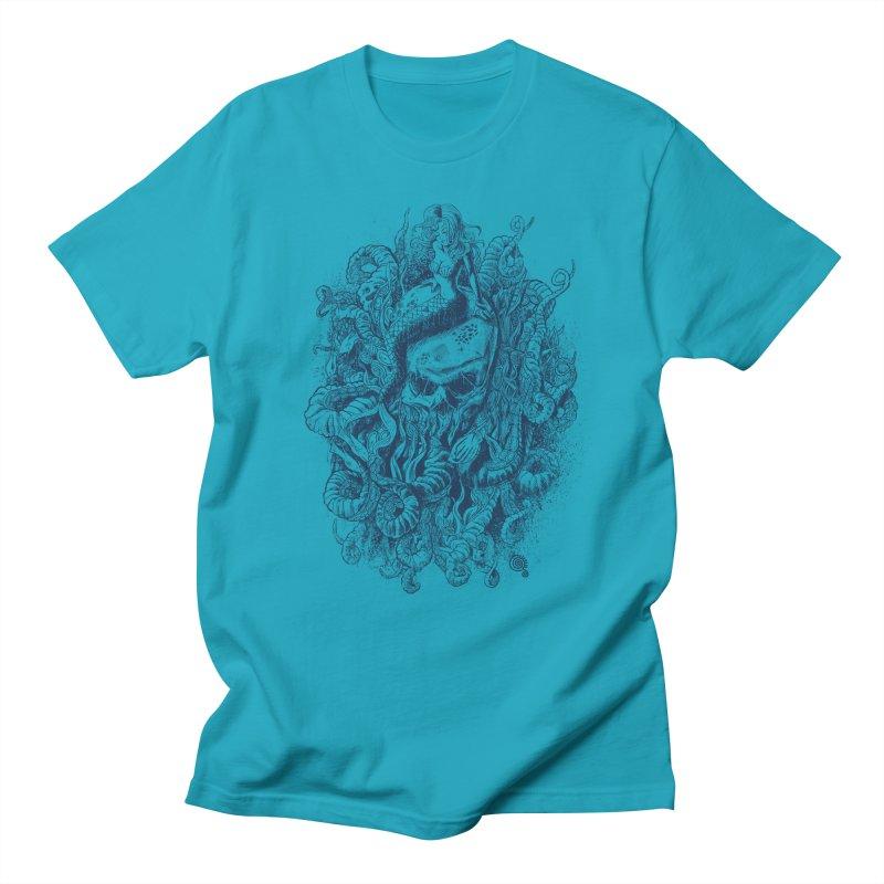 Mermaid of the Deep Men's T-shirt by Qetza