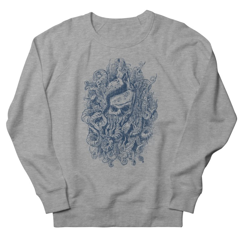 Mermaid of the Deep Men's Sweatshirt by Qetza
