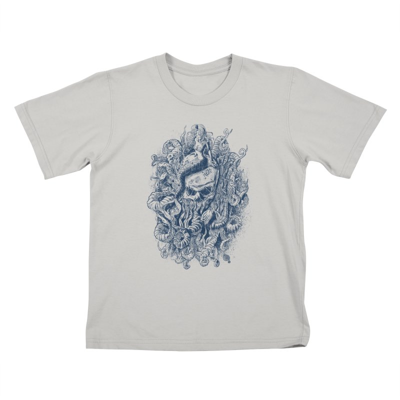 Mermaid of the Deep Kids T-shirt by Qetza