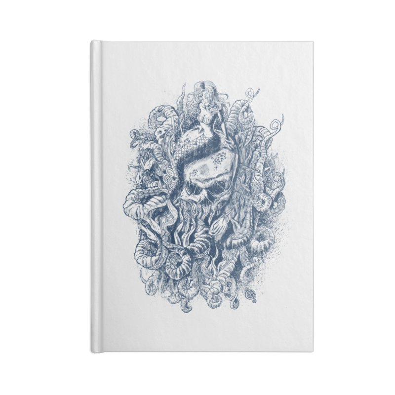 Mermaid of the Deep Accessories Notebook by Qetza