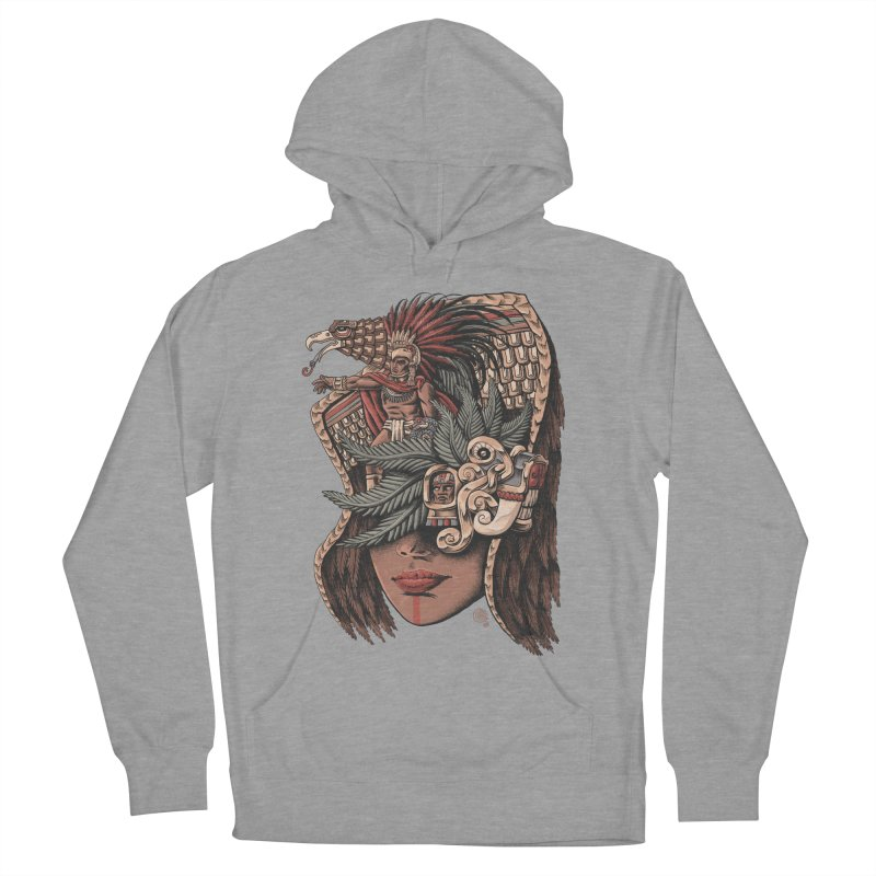 Eagle Warrior Women's Pullover Hoody by Qetza