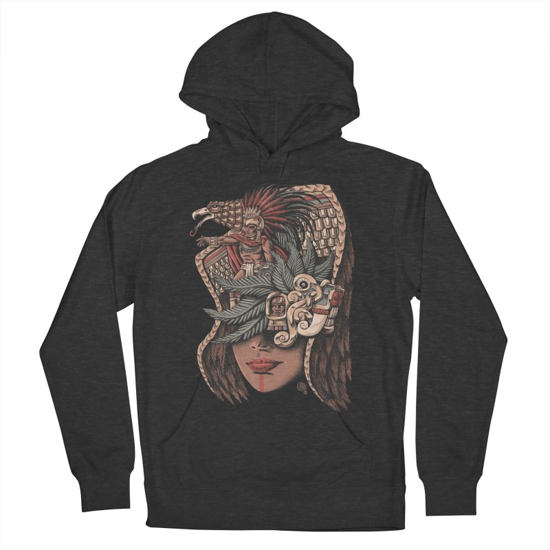 Eagle Warrior Men's Pullover Hoody by Qetza
