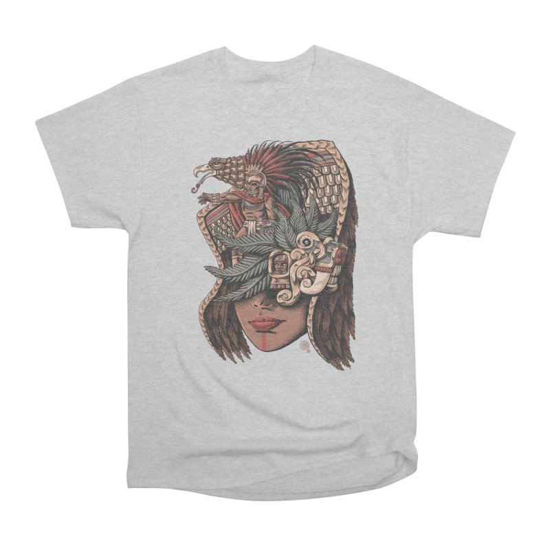 Eagle Warrior Men's Heavyweight T-Shirt by Qetza