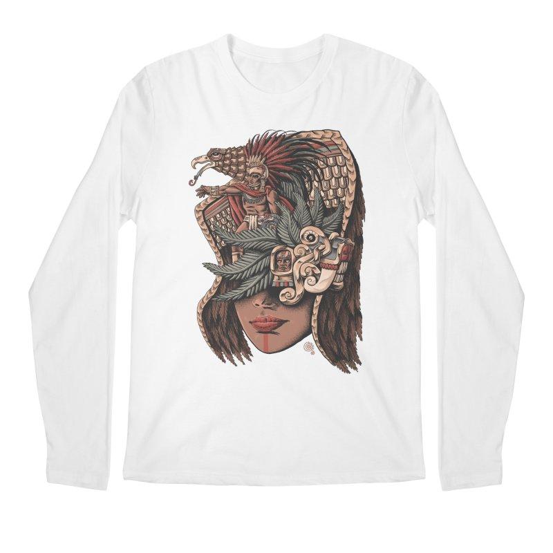 Eagle Warrior Men's Longsleeve T-Shirt by Qetza