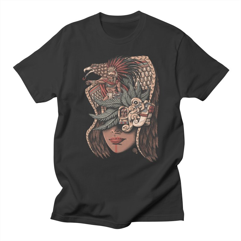Eagle Warrior Men's T-Shirt by Qetza