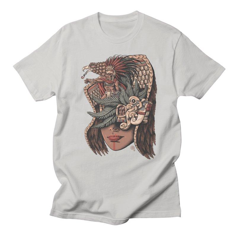 Eagle Warrior Men's T-shirt by Qetza