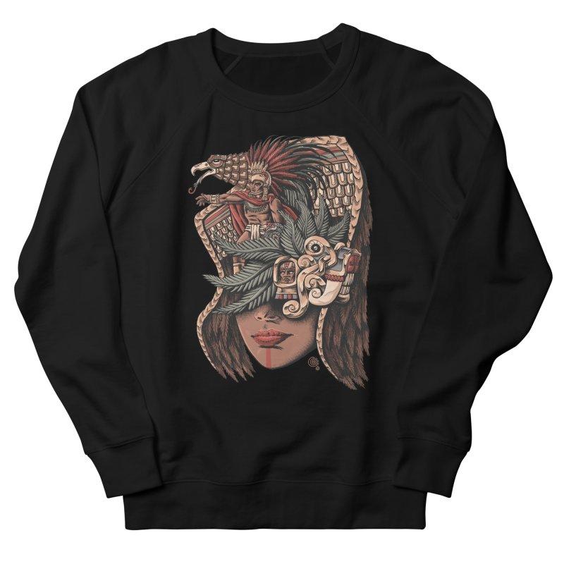 Eagle Warrior Women's Sweatshirt by Qetza