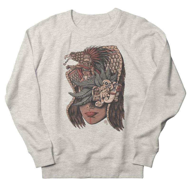 Eagle Warrior Women's Sweatshirt by Qetza