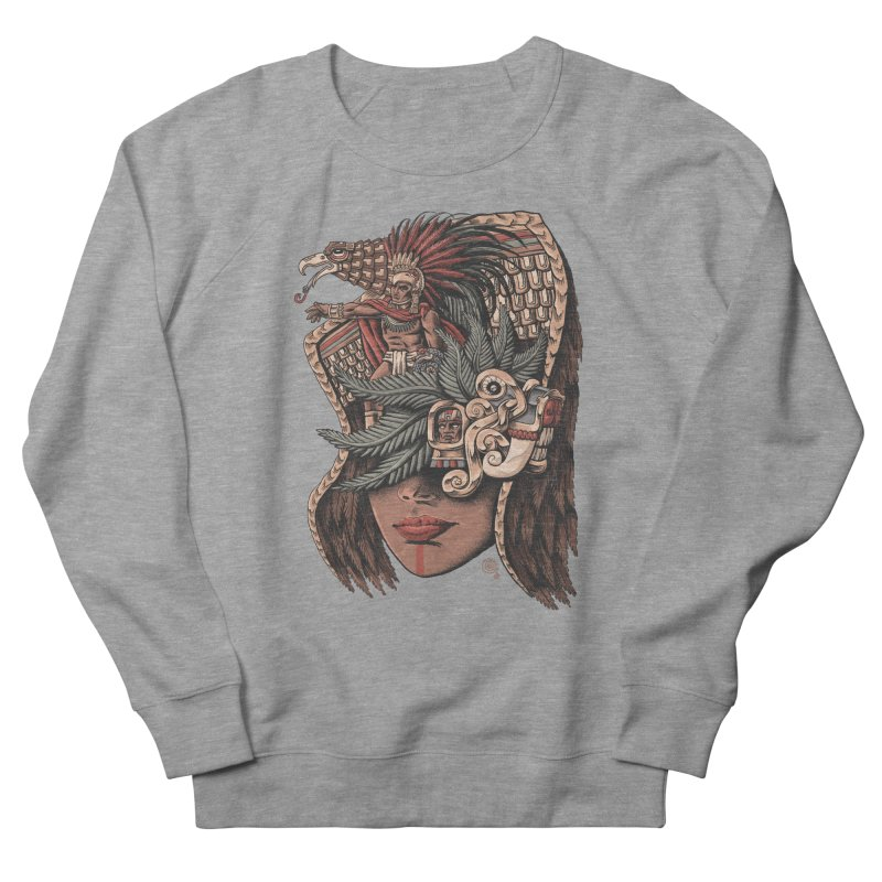 Eagle Warrior Men's Sweatshirt by Qetza
