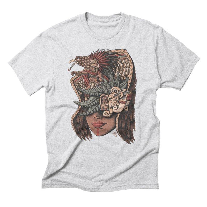 Eagle Warrior Men's Triblend T-shirt by Qetza