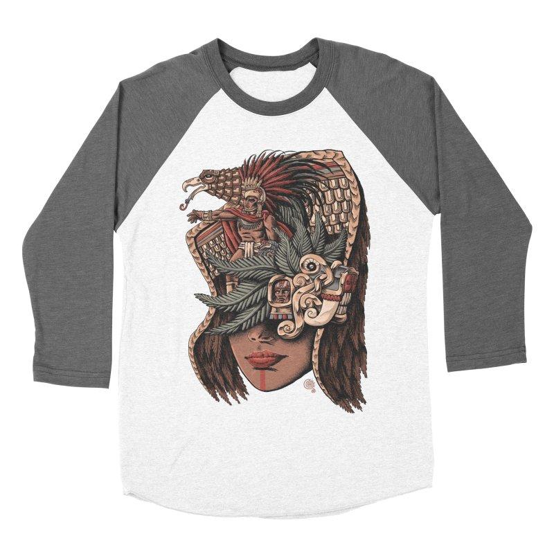Eagle Warrior Women's Baseball Triblend T-Shirt by Qetza