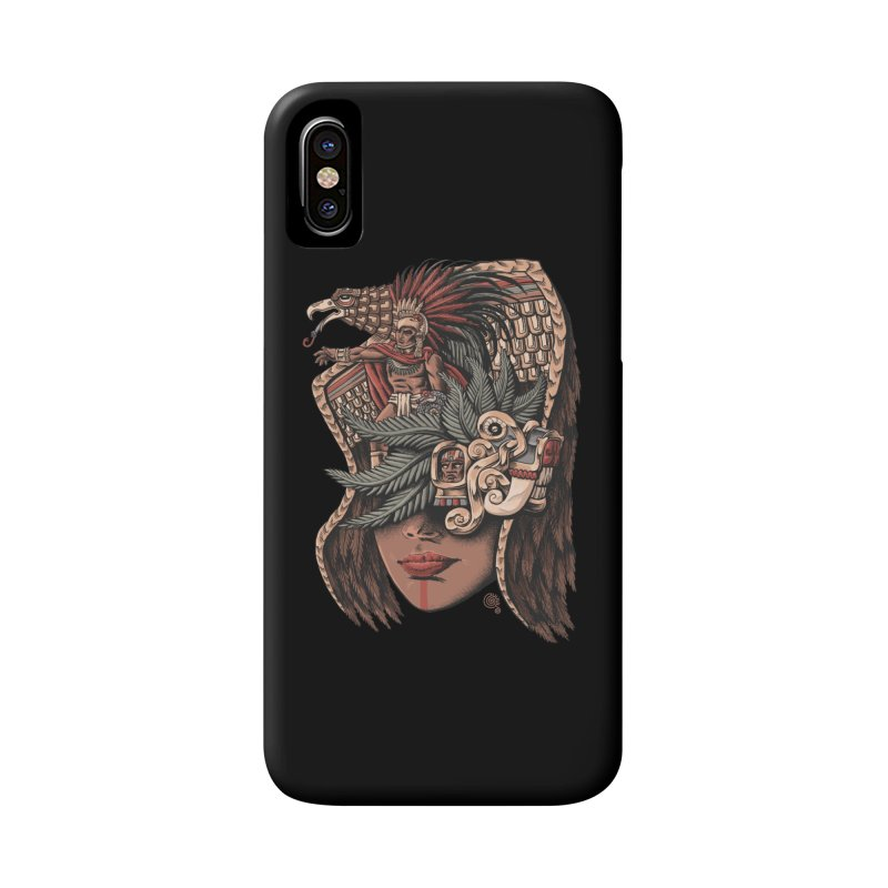 Eagle Warrior Accessories Phone Case by Qetza