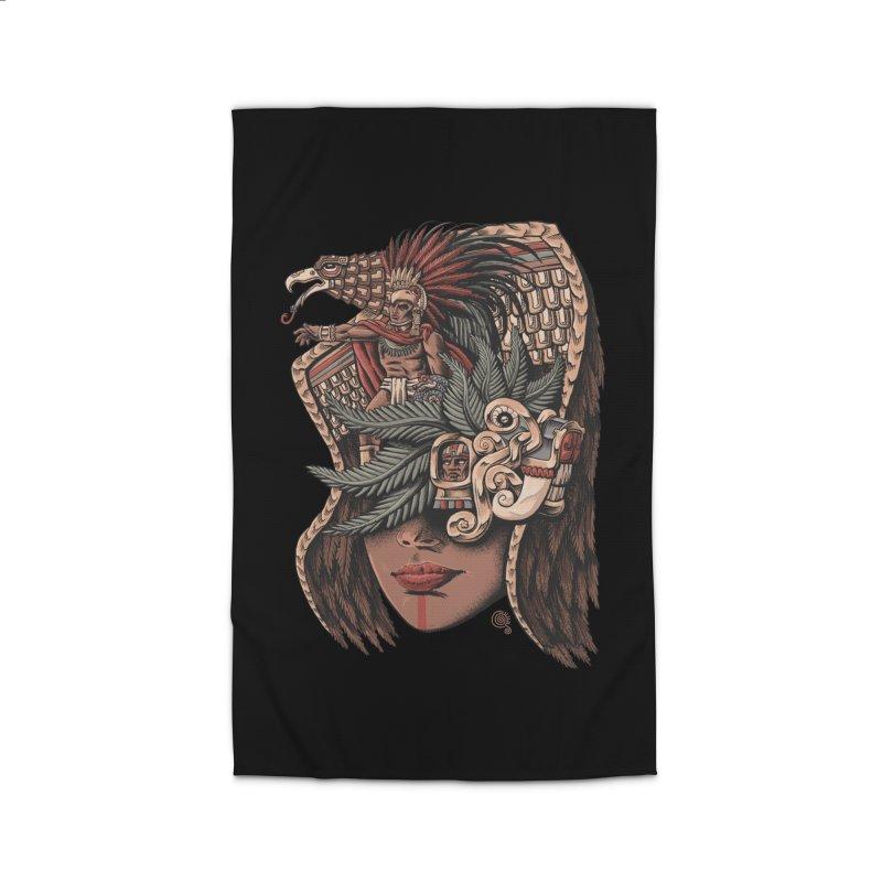 Eagle Warrior Home Rug by Qetza