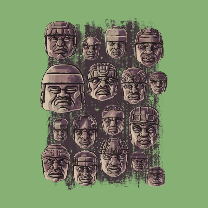 Ancient Olmecs by Qetza