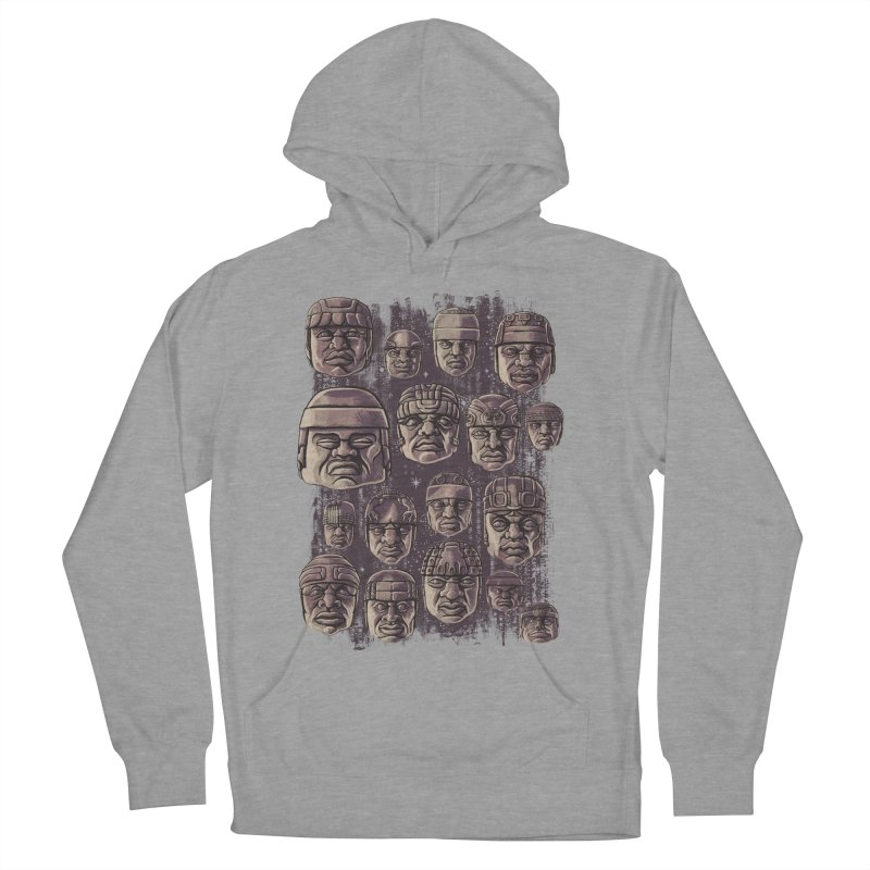 Ancient Olmecs Men's Pullover Hoody by Qetza