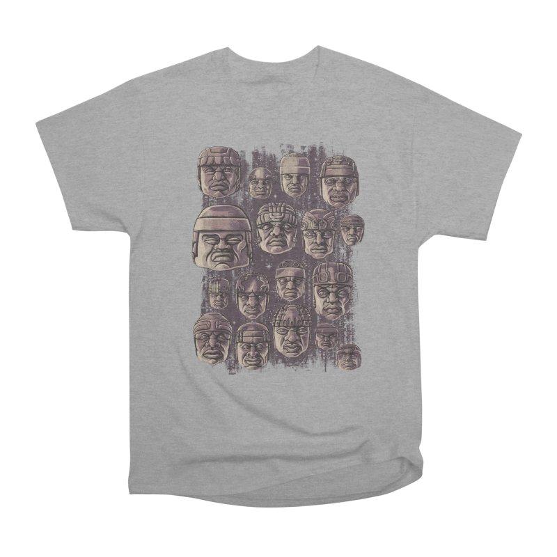 Ancient Olmecs Men's Classic T-Shirt by Qetza