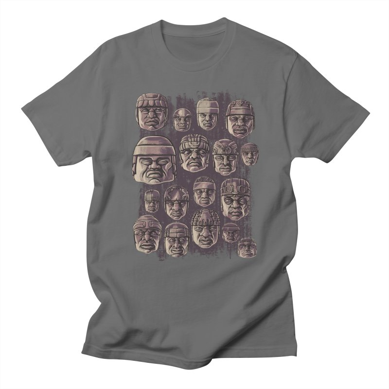 Ancient Olmecs Men's T-Shirt by Qetza