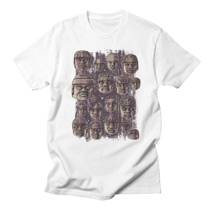 Ancient Olmecs Women's Unisex T-Shirt by Qetza