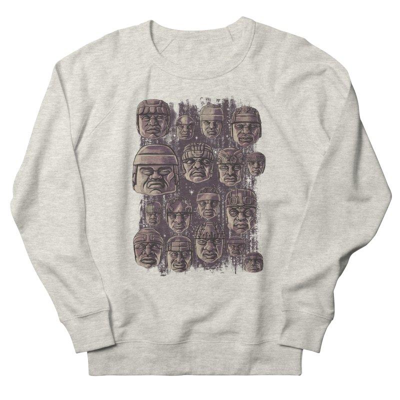 Ancient Olmecs Women's Sweatshirt by Qetza