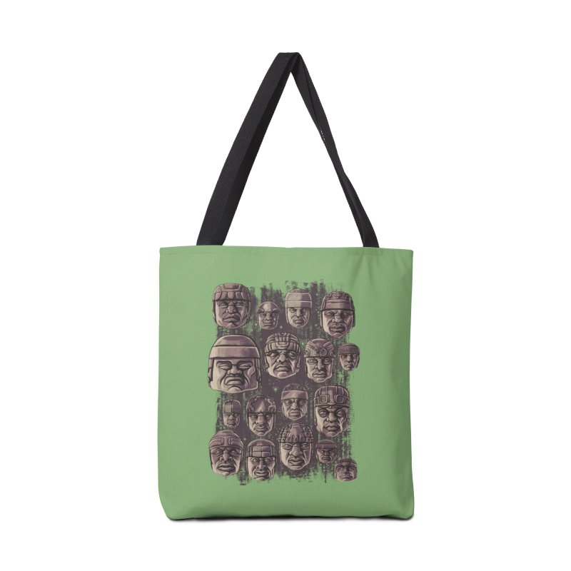 Ancient Olmecs Accessories Bag by Qetza