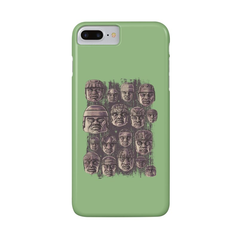 Ancient Olmecs Accessories Phone Case by Qetza