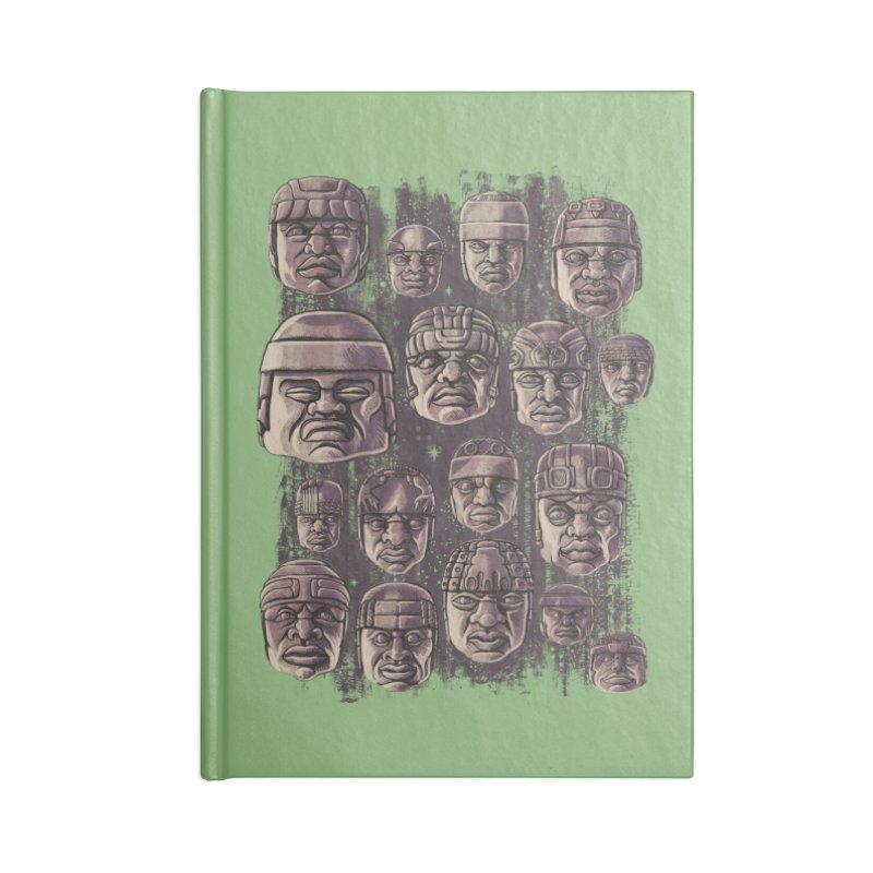 Ancient Olmecs Accessories Notebook by Qetza