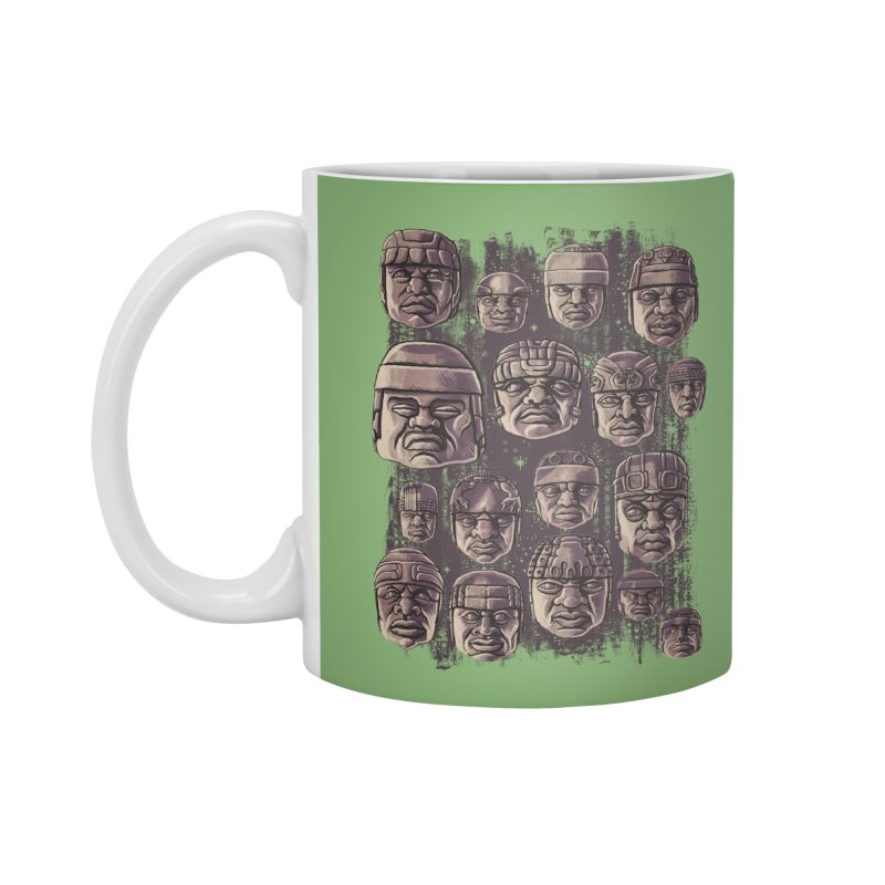 Ancient Olmecs Accessories Mug by Qetza