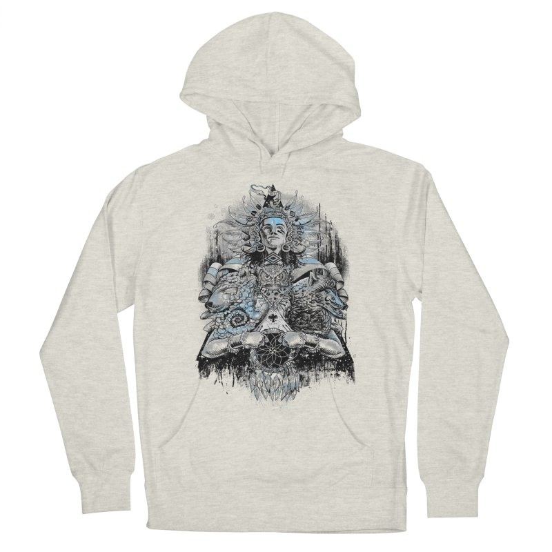 Spirit Dreams Men's Pullover Hoody by Qetza