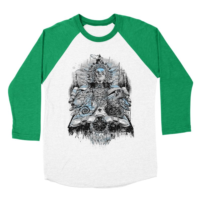Spirit Dreams Women's Baseball Triblend T-Shirt by Qetza