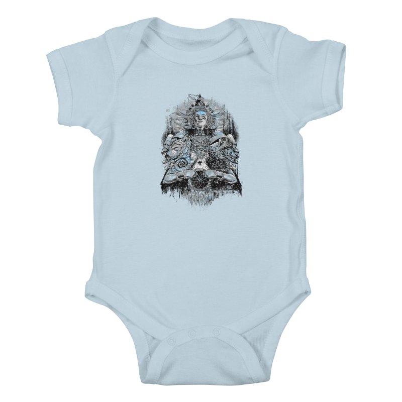 Spirit Dreams Kids Baby Bodysuit by Qetza
