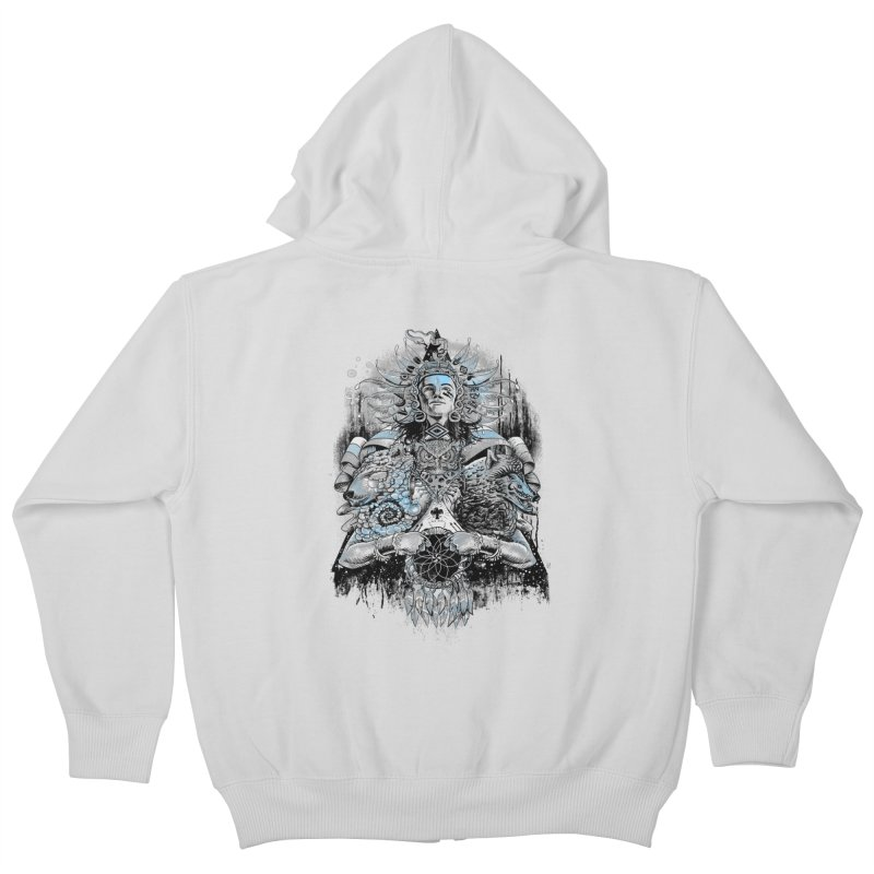 Spirit Dreams Kids Zip-Up Hoody by Qetza