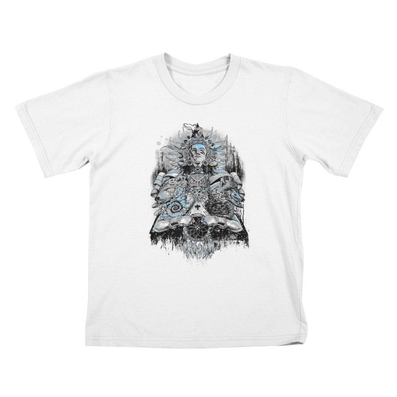 Spirit Dreams Kids T-shirt by Qetza