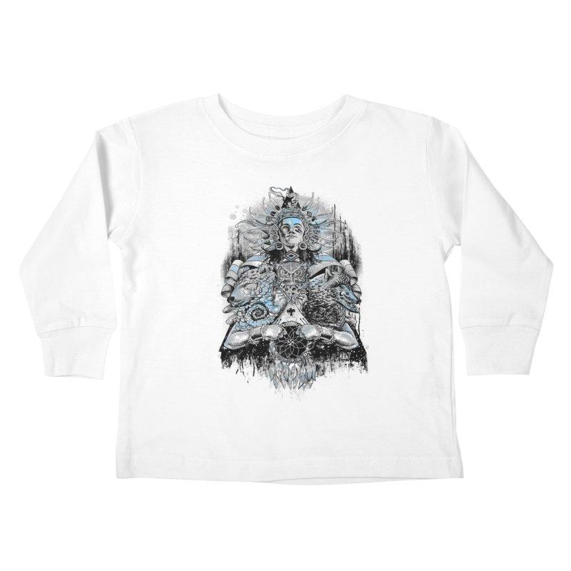 Spirit Dreams Kids Toddler Longsleeve T-Shirt by Qetza