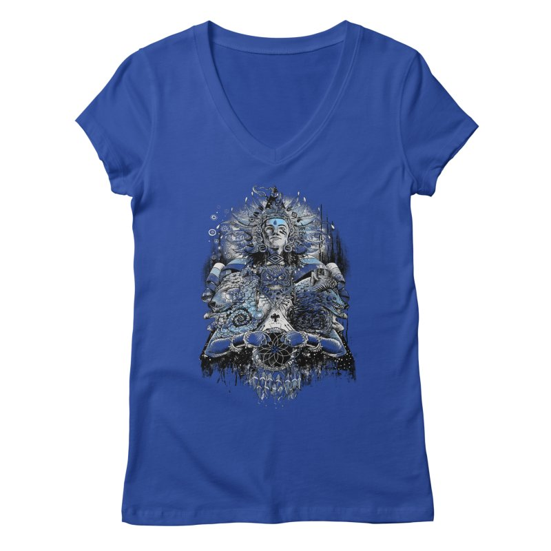 Spirit Dreams Women's V-Neck by Qetza