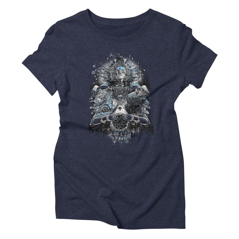 Spirit Dreams Women's Triblend T-shirt by Qetza