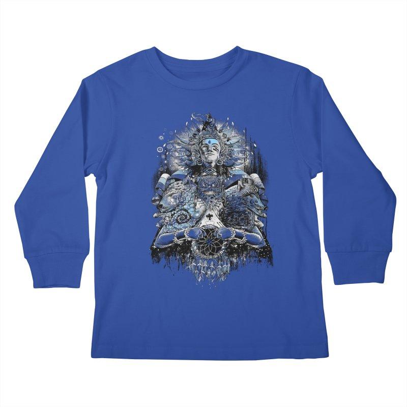 Spirit Dreams Kids Longsleeve T-Shirt by Qetza
