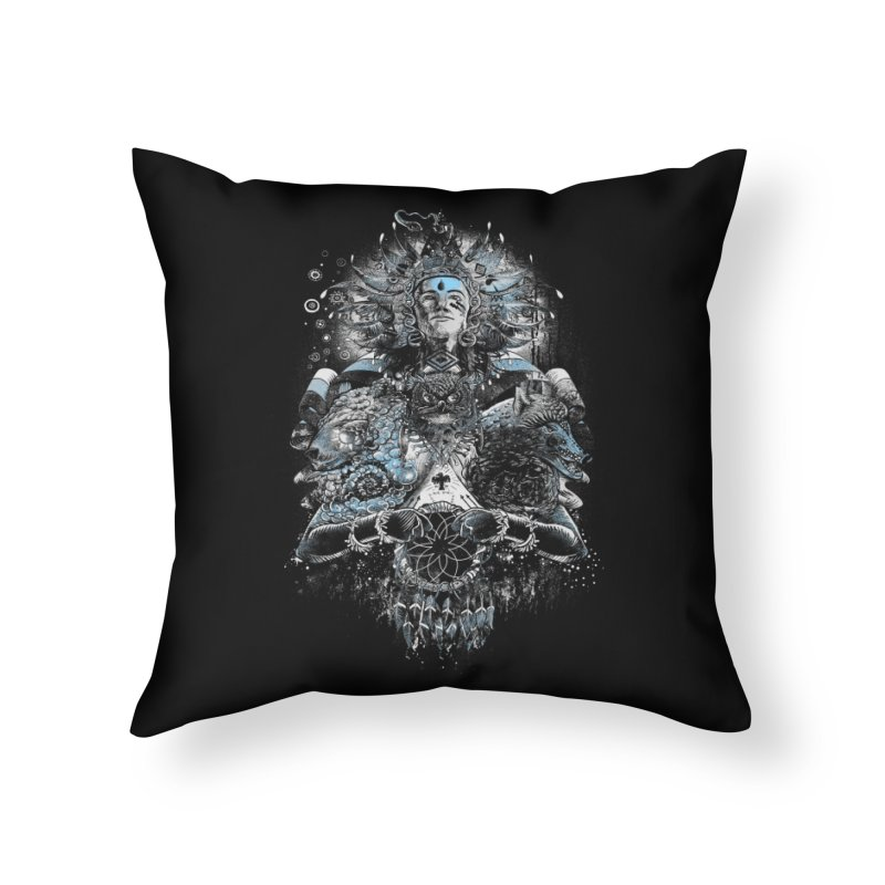 Spirit Dreams Home Throw Pillow by Qetza