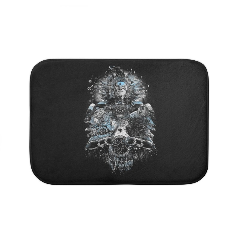 Spirit Dreams Home Bath Mat by Qetza