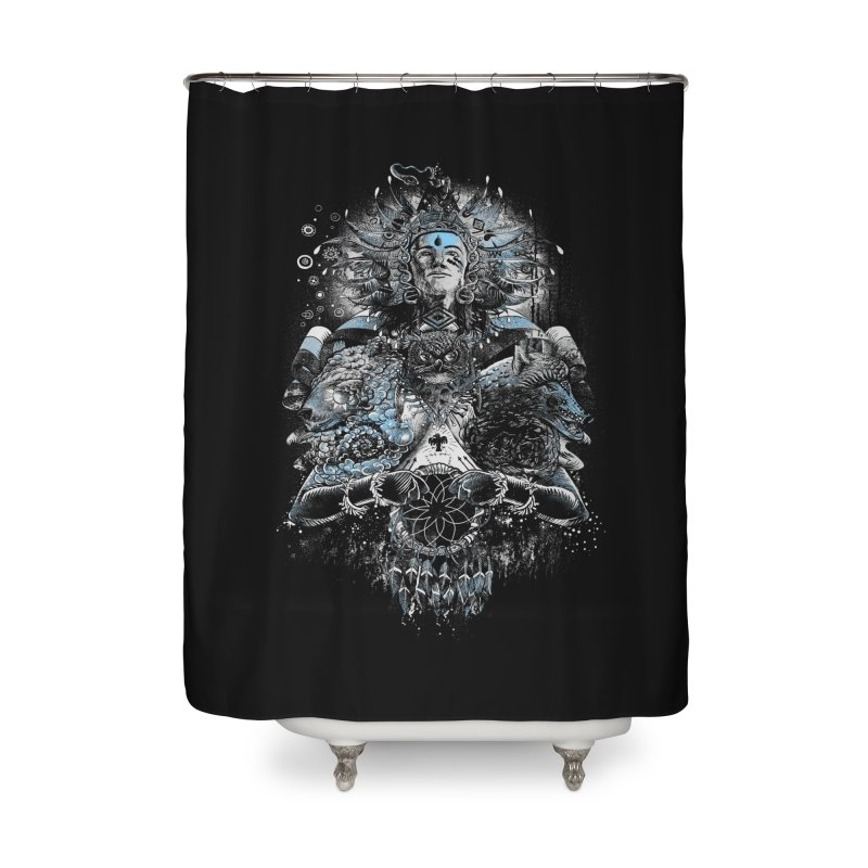 Spirit Dreams Home Shower Curtain by Qetza