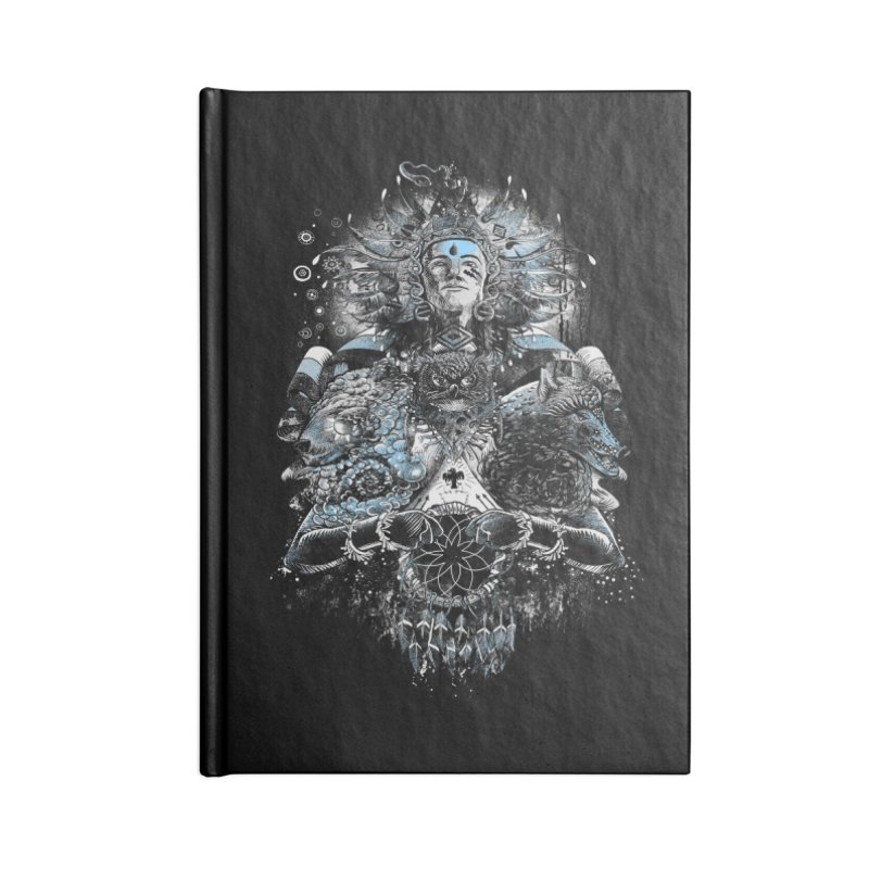 Spirit Dreams Accessories Notebook by Qetza
