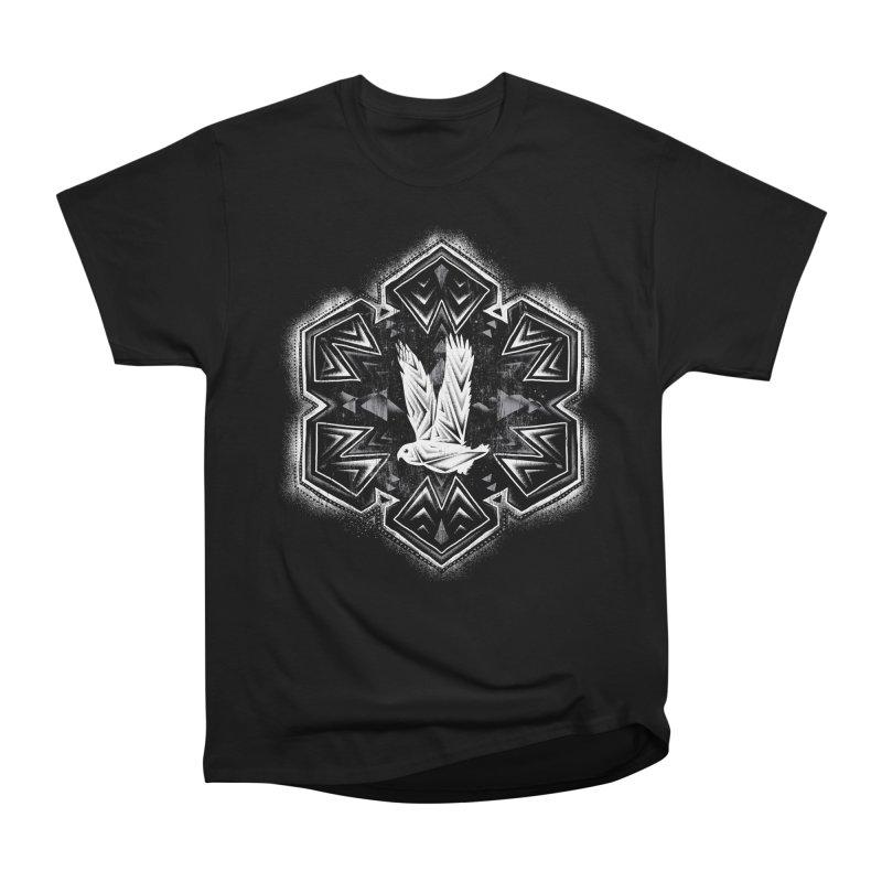 Snow Owl Women's Classic Unisex T-Shirt by Qetza