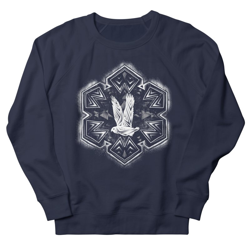 Snow Owl Women's Sweatshirt by Qetza