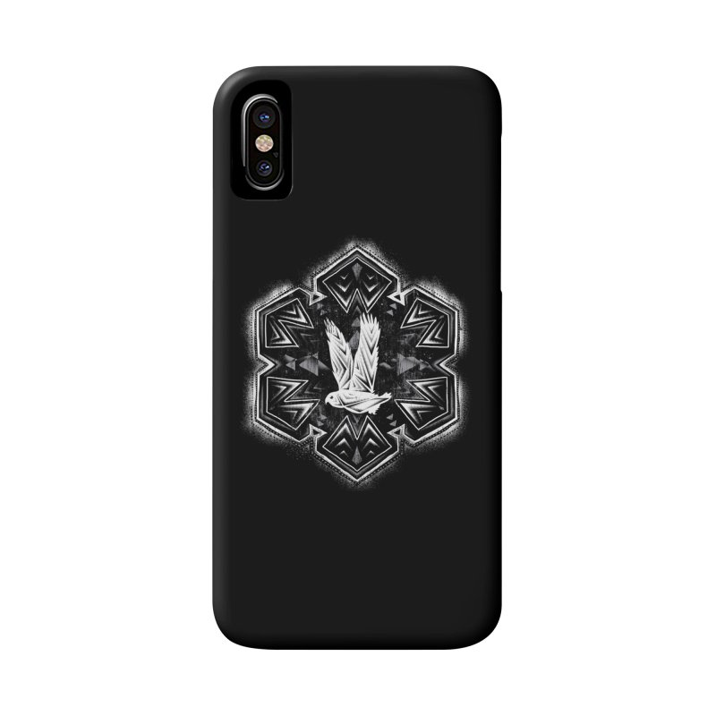 Snow Owl Accessories Phone Case by Qetza