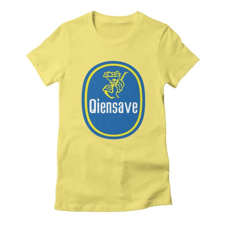 Chiquiztli Banana Women's T-Shirt by Qiensave Merchandise