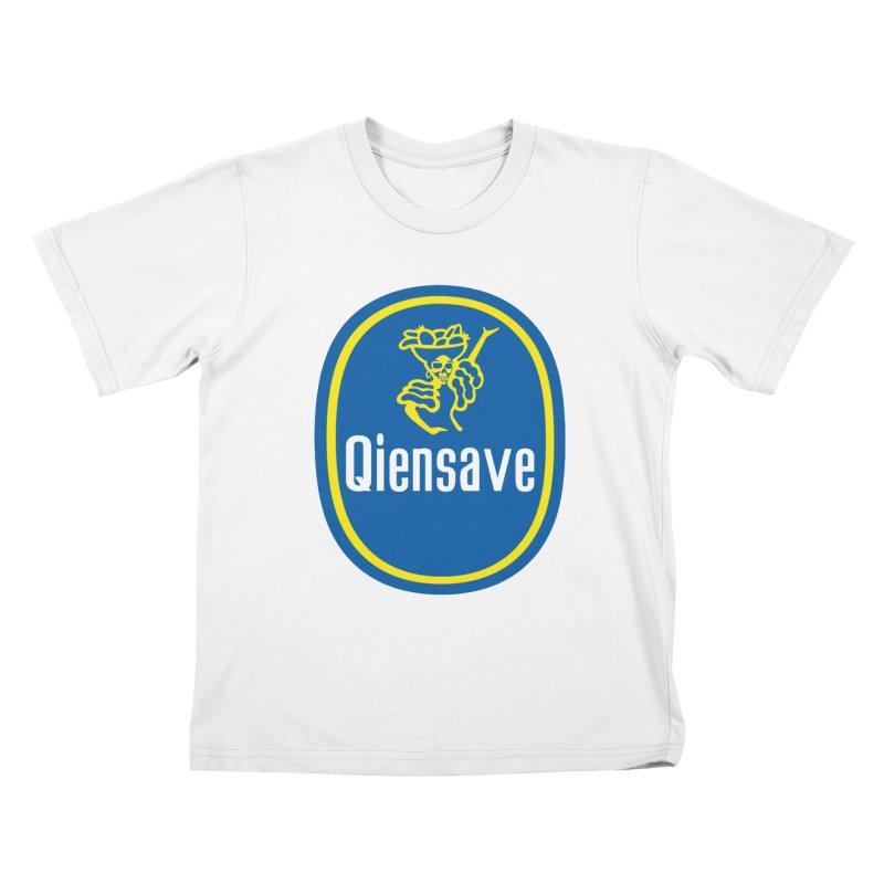Chiquiztli Banana Kids T-Shirt by Qiensave Merchandise