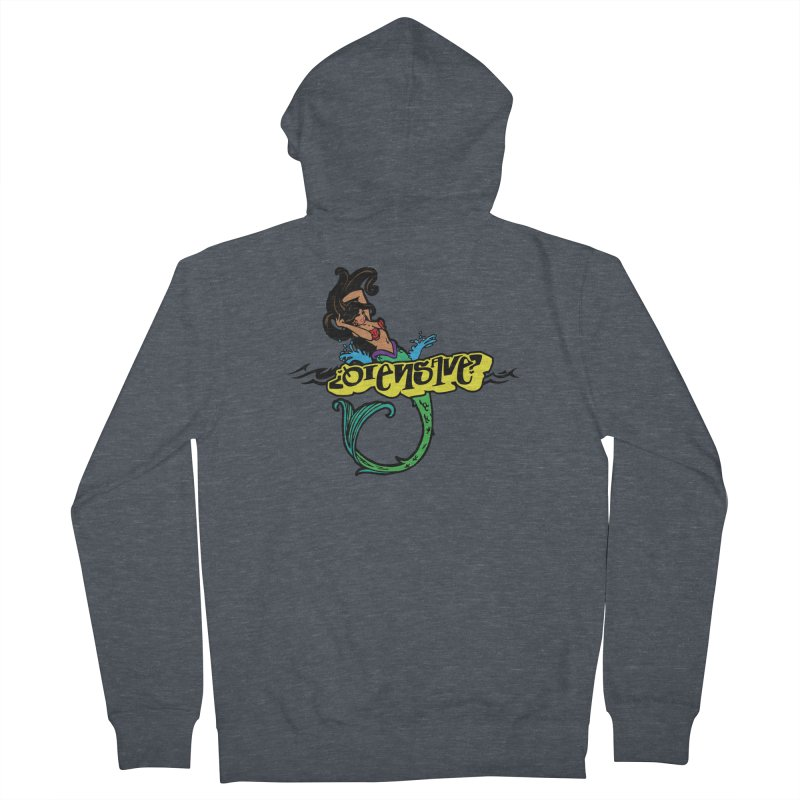 Sirena Men's French Terry Zip-Up Hoody by Qiensave Merchandise