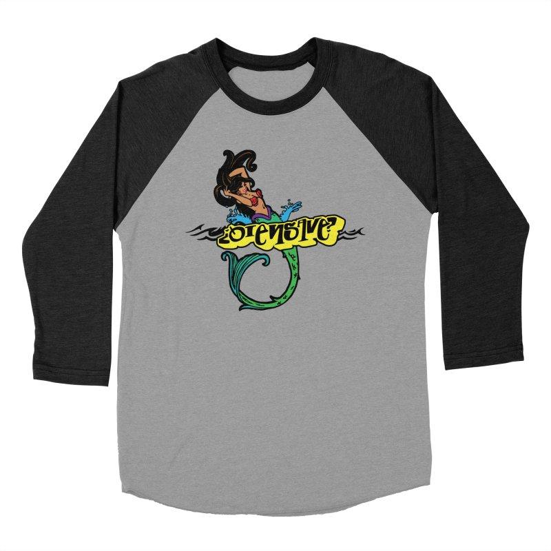 Sirena Men's Baseball Triblend Longsleeve T-Shirt by Qiensave Merchandise